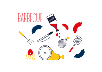 Free Barbecue Vector - бесплатный vector #352683