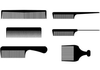 Barber Tools Combs Vectors - Free vector #352753