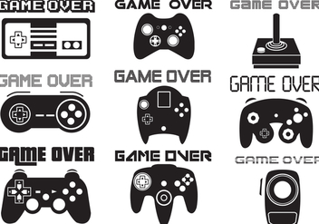 Game Over Vector - vector gratuit #352973