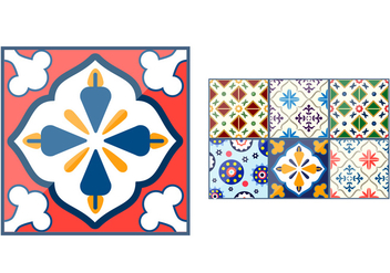 Talavera Ceramic Vectors - бесплатный vector #353193