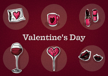 Free Valentine's Day Vector - Kostenloses vector #353203