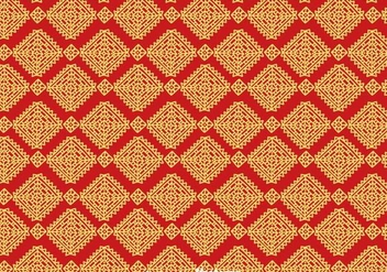 Batik Background Vector - vector #353373 gratis