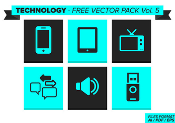 Technology Free Vector Pack Vol. 5 - Kostenloses vector #353573