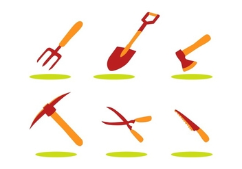 FREE AGRO TOOLS VECTOR - Free vector #353903