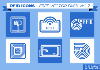 Rfid Icons Free Vector Pack Vol. 2 - vector gratuit #353973