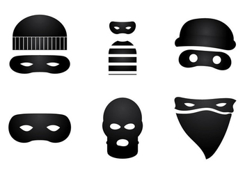 Free Robber Vector Illustration - Free vector #354073