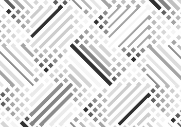 Seamless Patterns Of Grey And Black Lines - vector #354383 gratis