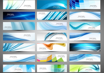 Different Type Of Business Banners - бесплатный vector #354543