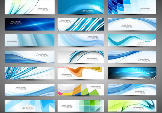 Different Type Of Business Banners - vector gratuit #354543