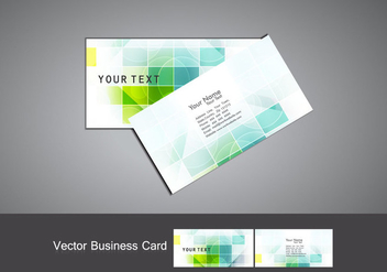 Set Of Business Card - Kostenloses vector #354603