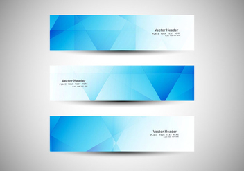 Business Abstract Banners - Free vector #354633
