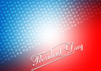 Colorful President Day Card - vector #354753 gratis