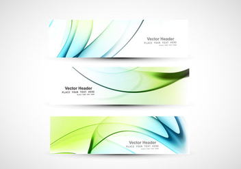 Collection Of Business Banner - vector gratuit #354853