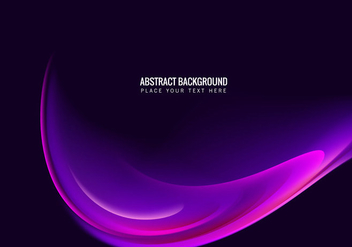 Abstract Wave Background - vector gratuit #354943