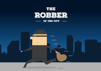 Robber Vector - Free vector #355193