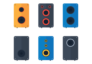 Speaker Vector Pack - Kostenloses vector #355243