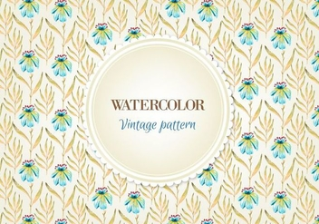 Free Vector Floral Pattern - Free vector #355473