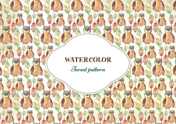 Free Vector Watercolor Pattern - бесплатный vector #355503