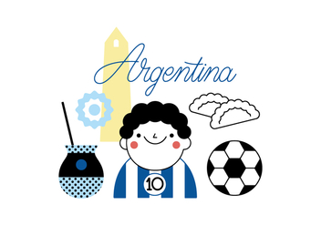 Free Argentina vector - Free vector #355593