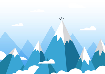 Vector Everest - vector gratuit #355633