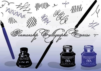 Free Vector Calligraphy - Free vector #355763