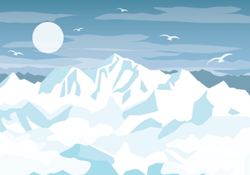 Everest Vector - Free vector #355953