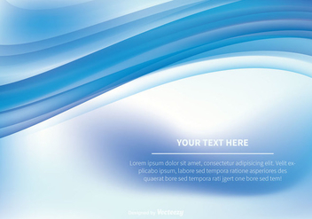 Abstract Swish Vector Background - vector #356043 gratis
