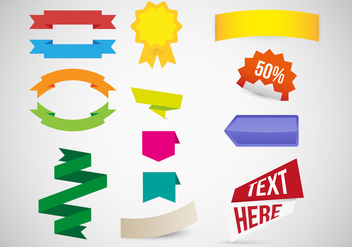 Etiquetas Labels Graphic Resources Vector - Kostenloses vector #356103
