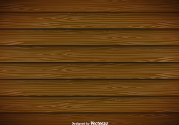 Modern Wooden Planks Vector Background - vector gratuit #356263
