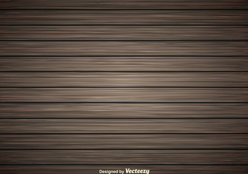 Dark Wooden Planks Vector Background - Kostenloses vector #356413