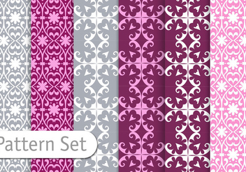 Geometric Pattern Set - Free vector #356503