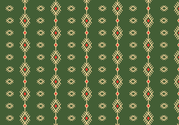 Traditional Rustic Pattern Background - vector gratuit #356543