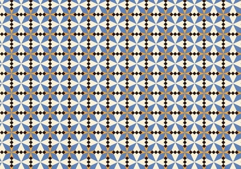 Purple Morrocan Mosaic Pattern - бесплатный vector #356713
