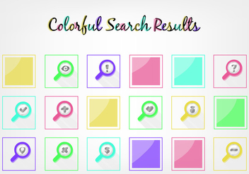 Free Search Results Vector - vector #356783 gratis