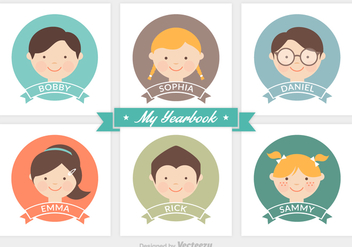 Free Vector Yearbook - Free vector #356833