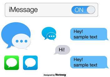 iMessage Vector - Free vector #356863