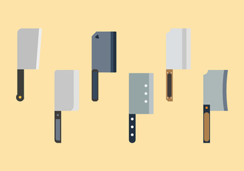 Free Meat Cleaver Vectors - бесплатный vector #357053