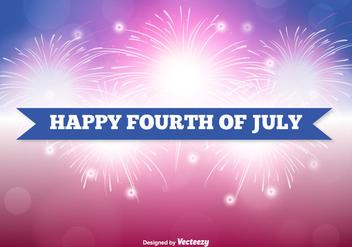 Fourth of July Illustration - бесплатный vector #357093