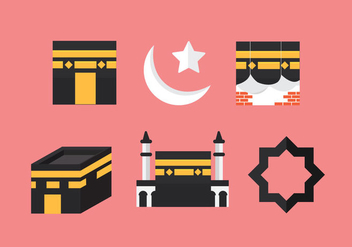 Free Makkah Vector Icon #1 - бесплатный vector #357133