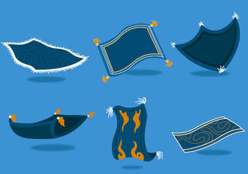 Magic Carpet Vectors - vector gratuit #357283