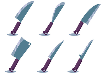 Cleaver Vector Set - бесплатный vector #357343