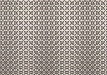 Mosaic Floral Pattern - Free vector #357773