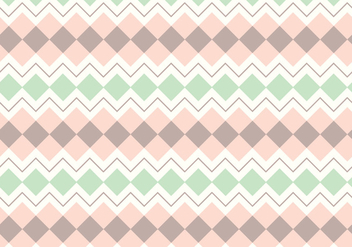 Abstract Pastel Pattern - vector gratuit #357783