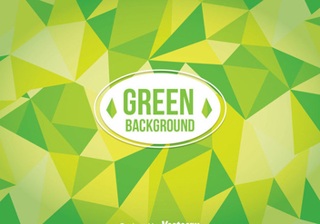 Green Poligon Background - vector #358603 gratis
