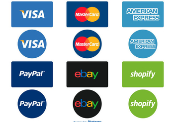 Payment Options Icon Set - vector gratuit #358663
