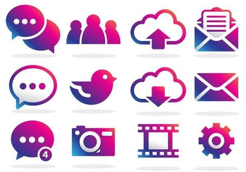 Imessage Vector Icon - vector #358953 gratis