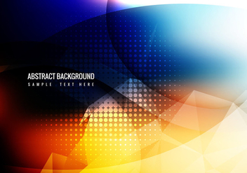 Free Colorful Abstract Background Vector - Free vector #359013