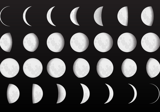 Moon phases font download fonts4free.
