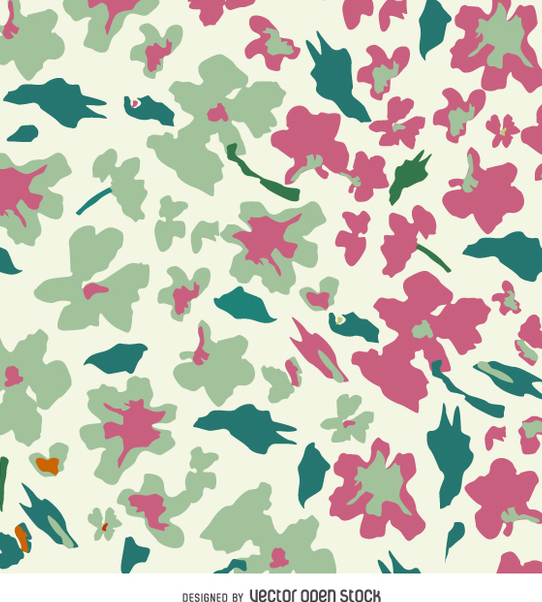 Abstract floral background - Kostenloses vector #359423