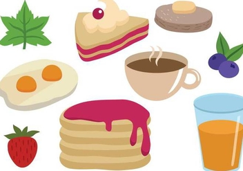 Free Breakfast Vectors - бесплатный vector #359493
